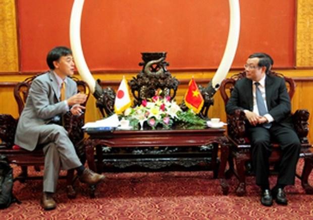 JICA apoya a mejorar medio ambiente hidrico en ciudad vietnamita hinh anh 1