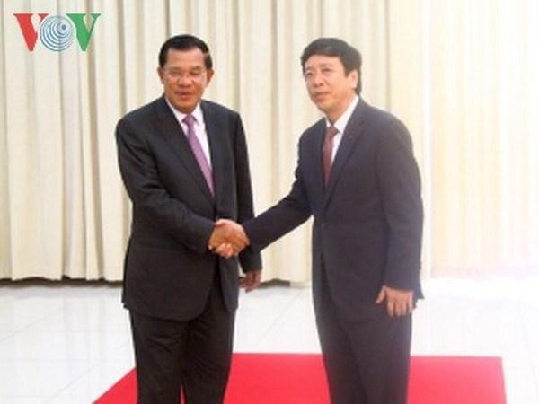 Delegacion de VOV visita Cambodia hinh anh 1