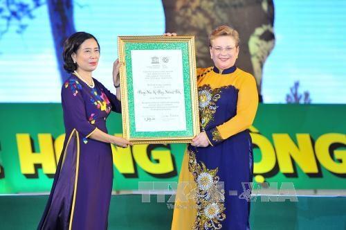 Parque Phong Nha-Ke Bang recibe segundo reconocimiento de UNESCO hinh anh 1