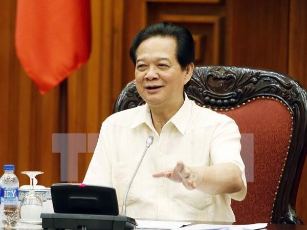 Premier preside reunion sobre impactos de devaluacion de yuan hinh anh 1