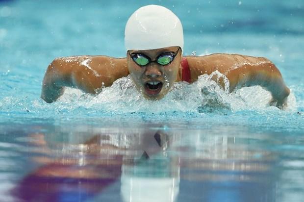 Anh Vien falla medalla en Copa Mundial de natacion en Paris hinh anh 1