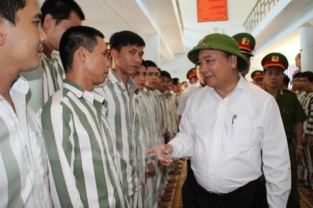 Vicepremier pide prestar atencion a reincorporacion social de presos hinh anh 1