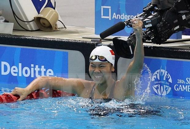 Gana Anh Vien otra presea en torneo mundial de natacion hinh anh 1