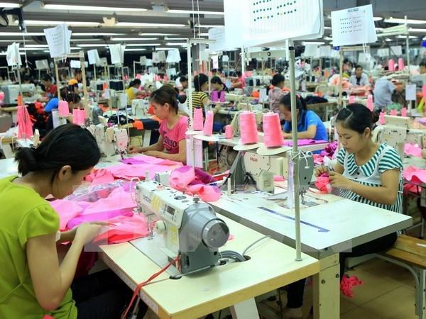 """Fuerte """"ola"""" de inversion foranea en confecciones-textiles de Vietnam hinh anh 1"""