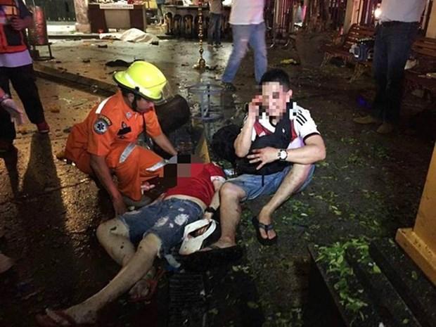 Asciende a 22 muertos por atentado en Bangkok hinh anh 1