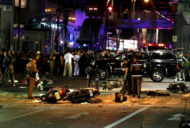 Ninguna victima vietnamita por explosion en Bangkok hinh anh 1