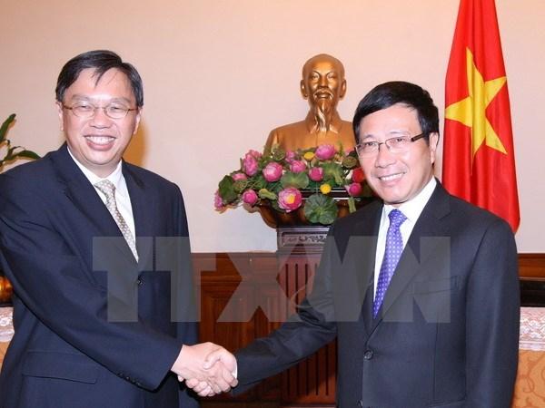 Vietnam y Singapur organizan novena consulta politica hinh anh 1