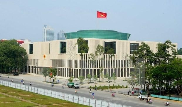 Sede de Asamblea Nacional sera entregada en septiembre hinh anh 1