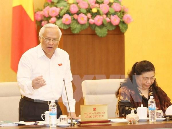 Comite parlamentario analiza borrador del Codigo de Procedimiento Civi hinh anh 1