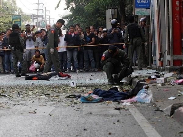 Confirman un lesionado vietnamita por explosion en Tailandia hinh anh 1