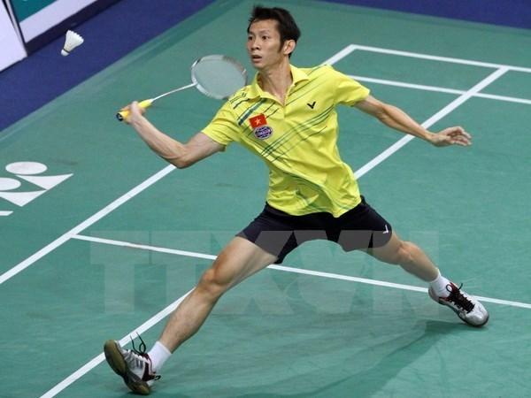 Torneo vietnamita de badminton atrae fuertes raquetistas foraneos hinh anh 1
