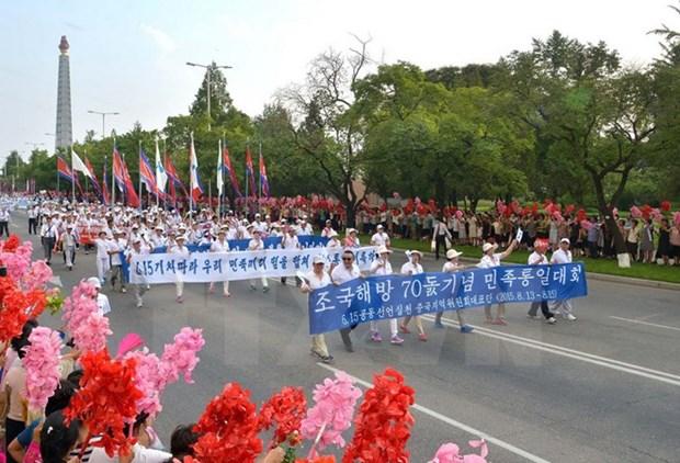 Delegacion vietnamita concluye visita a Corea del Norte hinh anh 1