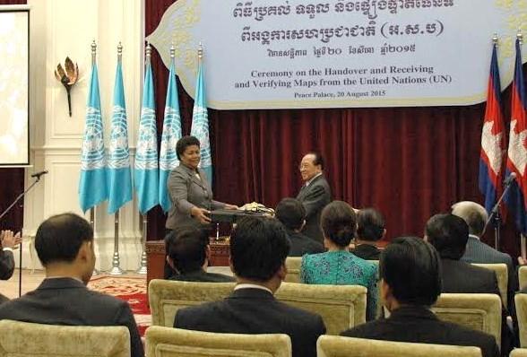 Verifican mapas cambodiano y de ONU para demarcacion fronteriza hinh anh 1