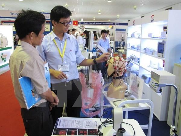Exposicion internacional de Farmacia en Ciudad Ho Chi Minh hinh anh 1