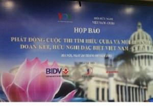 Lanzan concurso sobre relaciones Vietnam- Cuba hinh anh 1