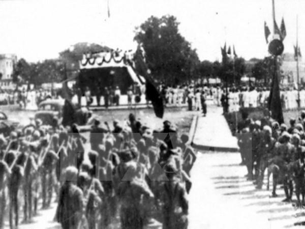 Exhiben documentos sobre Revolucion de Agosto de Vietnam hinh anh 1