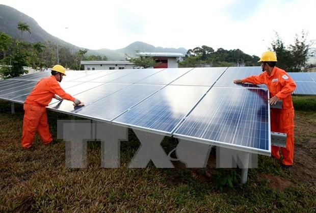 Grupo sudcoreano invertira en planta electrica solar en Vietnam hinh anh 1