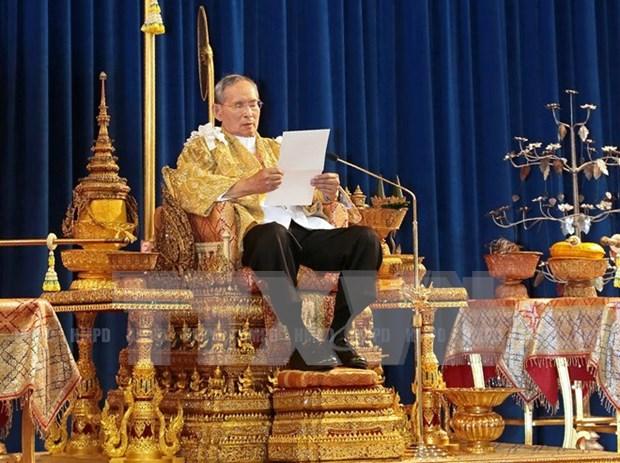 Rey tailandes ratifica lista de nuevo gabinete hinh anh 1