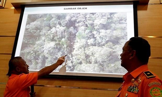Encuentran segunda caja negra de avion accidentado en Indonesia hinh anh 1