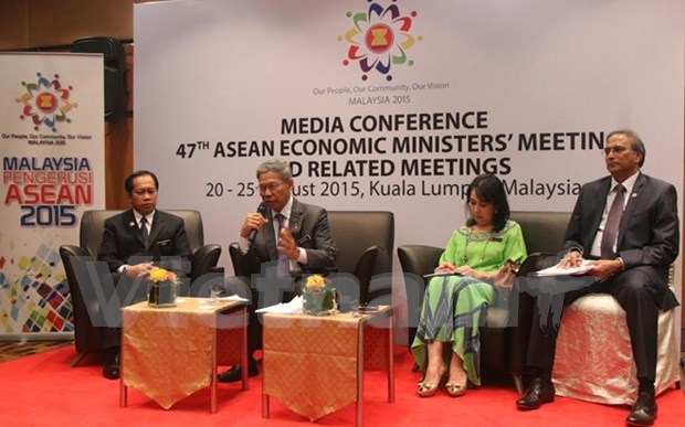 Efectuaran Conferencia de Ministros de Economia de la ASEAN hinh anh 1