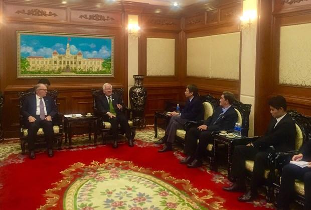 Encargado de negocios de Colombia concluye visita a Ciudad Ho Chi Minh hinh anh 1