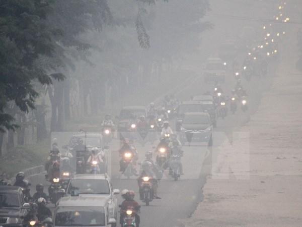 Unen manos contra contaminacion de neblina en subregion de Mekong hinh anh 1