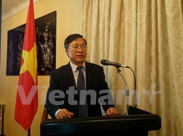 Mitin conmemorativo a 70 anos de diplomacia vietnamita en Argelia hinh anh 1