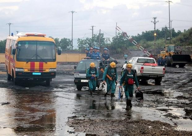 Encontraron resto del obrero por incidente en mina de carbon hinh anh 1