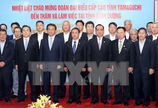 Binh Duong y Yamaguchi concretizan planes de cooperacion hinh anh 1