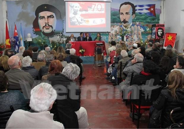 Conmemoran en Argentina Fiesta Nacional de Vietnam hinh anh 1
