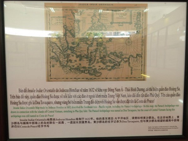 Exhiben documentos sobre soberania insular vietnamita hinh anh 1