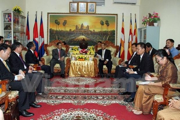 Amplian colaboracion Vietnam – Cambodia en asuntos religiosos hinh anh 1