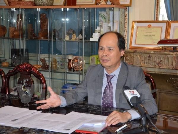 Expectativas de nexos comerciales Vietnam- Francia hinh anh 1