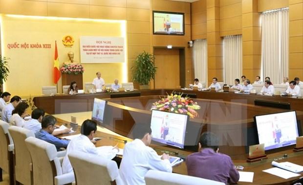 Debaten rol parlamentario en ejecucion de acuerdos internacionales hinh anh 1