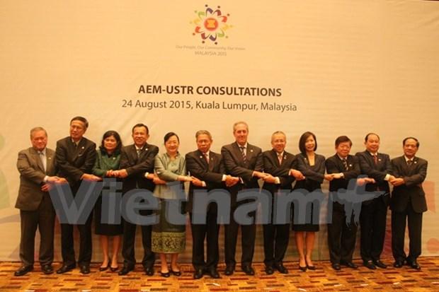 ASEAN y EE.UU. aceleran cooperacion comercial y de inversion hinh anh 1