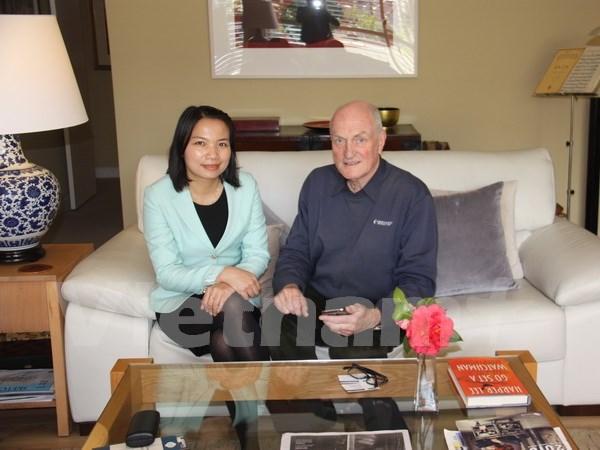 Exembajador australiano: Vietnam, mercado potencial de su pais hinh anh 1