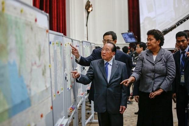 Dispuesto Reino Unido prestar mapas a Cambodia hinh anh 1