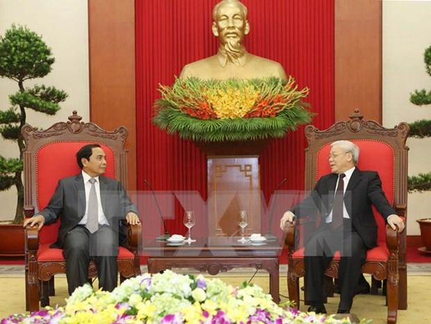 Vietnam y Laos intensifican cooperacion en labores de inspeccion hinh anh 1