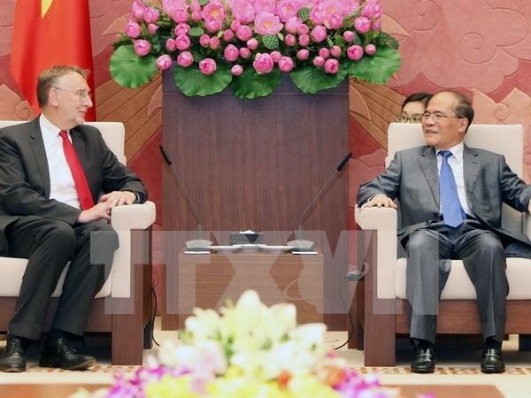 Vietnam espera el apoyo de PE a la firma de TLC con UE hinh anh 1