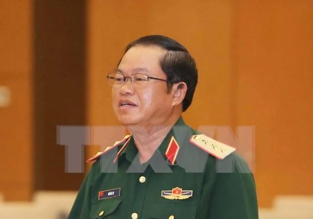 Delegacion del Estado Mayor general de Ejercito vietnamita visita Laos hinh anh 1