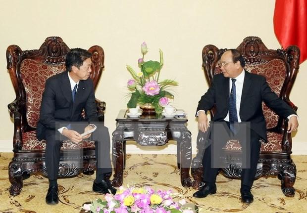 Vietnam desea profundizar amistad y cooperacion integral con Japon hinh anh 1