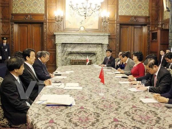 Vietnam y Japon robustecen cooperacion bilateral hinh anh 1