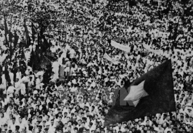 Revolucion de Agosto reivindico derechos humanos para vietnamitas hinh anh 1