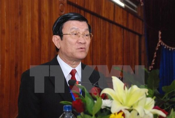 Asistira presidente a ceremonia del triunfo sobre fascismo en China hinh anh 1