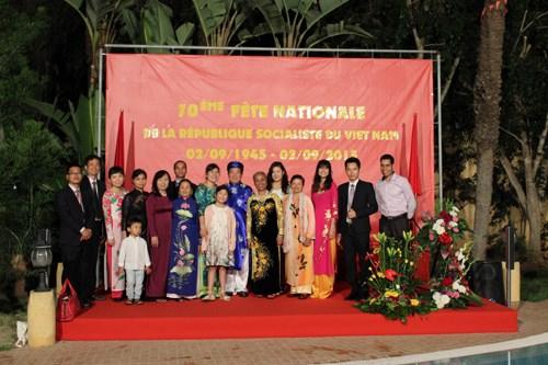 Conmemoran en Chile y Marruecos Fiesta Nacional de Vietnam hinh anh 1
