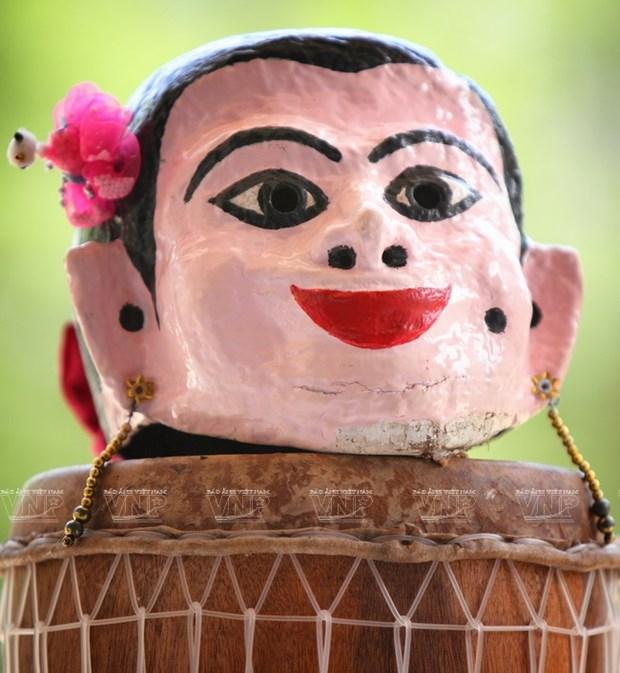 Empenado khmer en conservar valor de misteriosas mascaras hinh anh 8