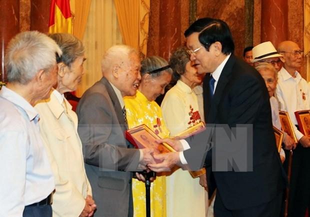 Resaltan liderazgo de PCV y Presidente Ho Chi Minh hinh anh 1