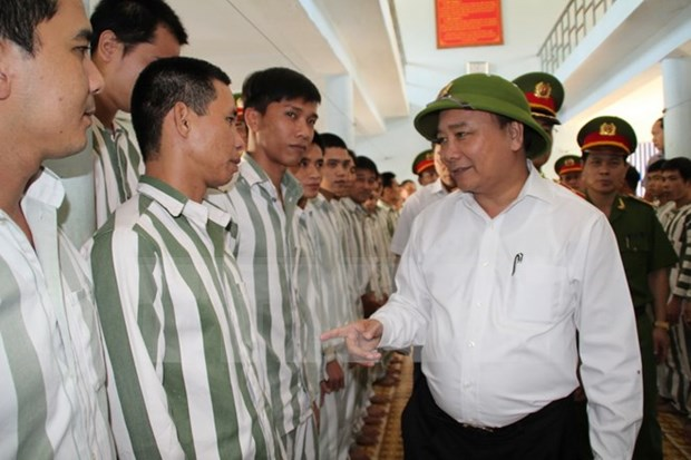 Vietnam indulta a mas 18 mil convictos en ocasion del Dia Nacional hinh anh 1