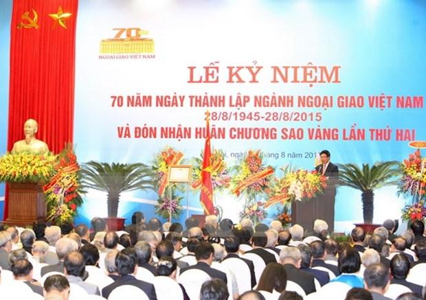 Saludan lideres laosianos fiesta nacional de Vietnam hinh anh 1