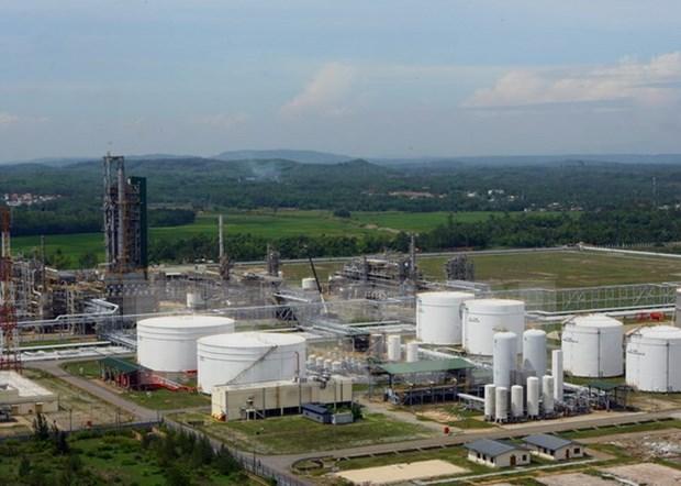 Elevara refineria Dung Quat capacidad de procesamiento hinh anh 1